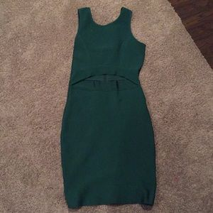 Emerald Green LULUs dress